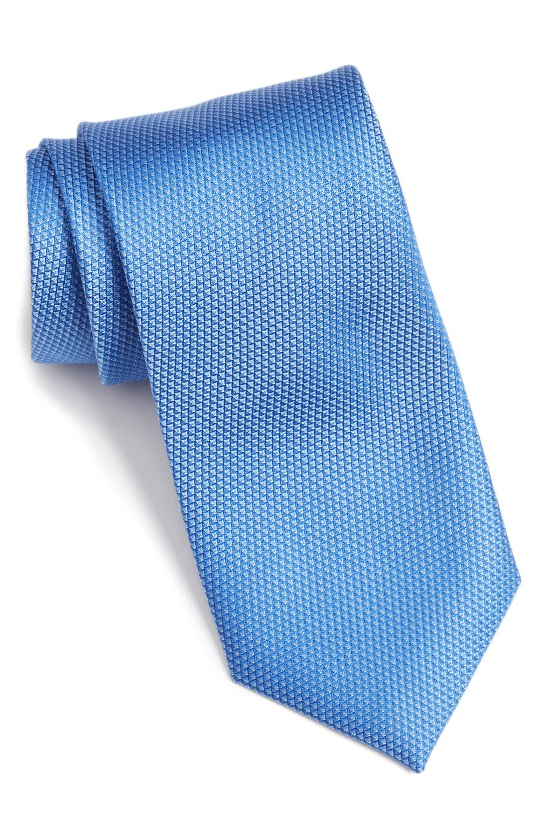 Calibrate 'Madison' Solid Silk Tie