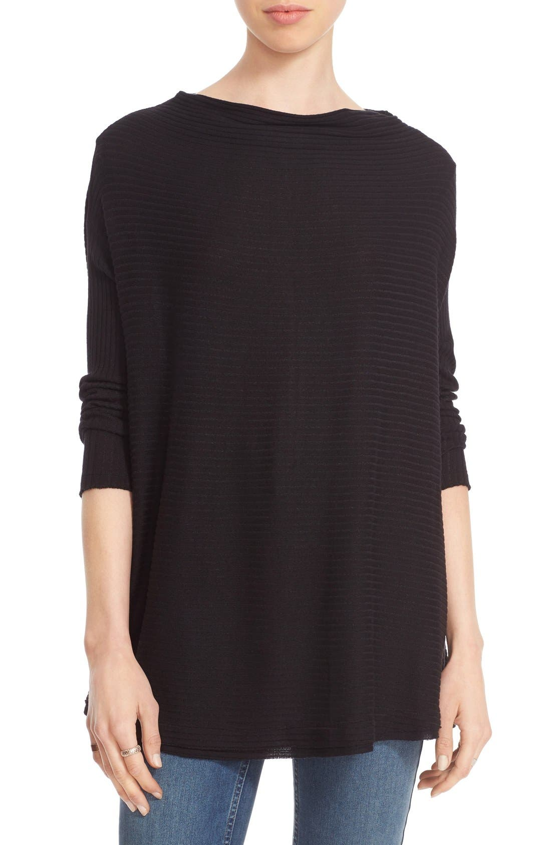 Main Image - Free People 'Love' Split Back Pullover