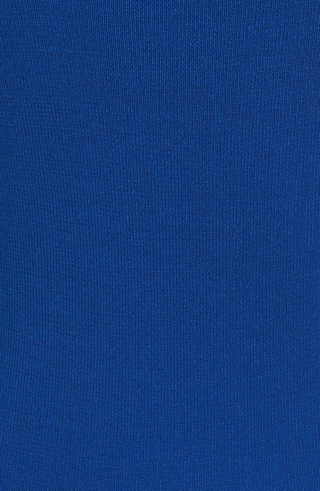 Alternate Image 5  - Carven Stretch Knit Fit & Flare Dress