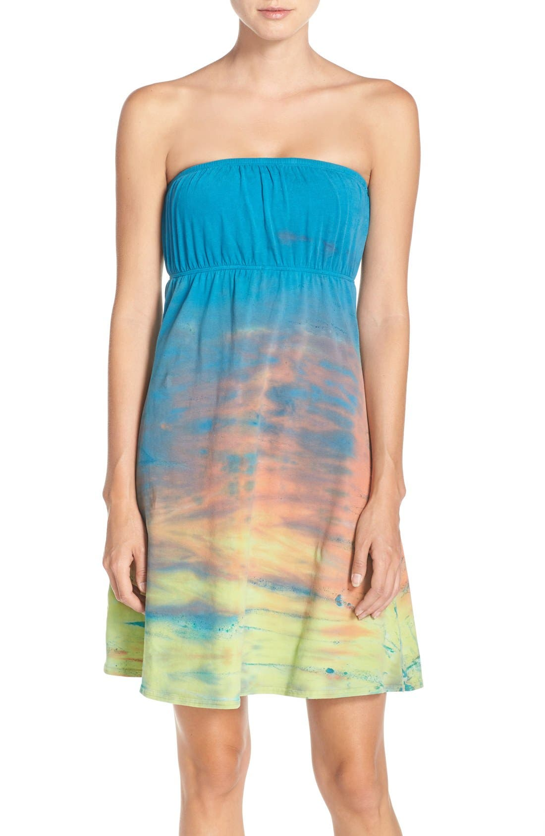 Alternate Image 1 Selected - Hard Tail Strapless Cover-Up Dress