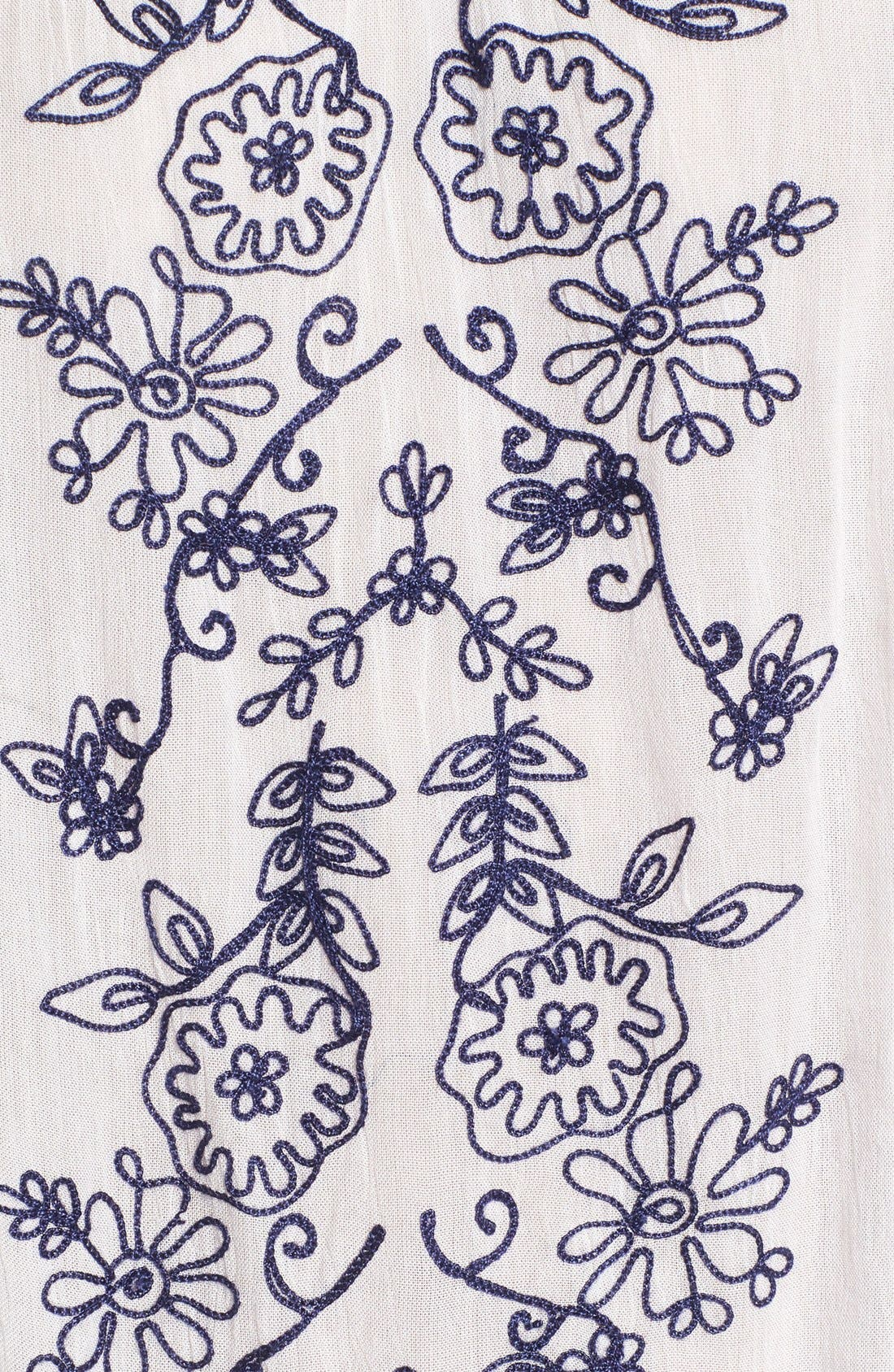Alternate Image 5  - O'Neill 'Holland' Embroidered Woven Top