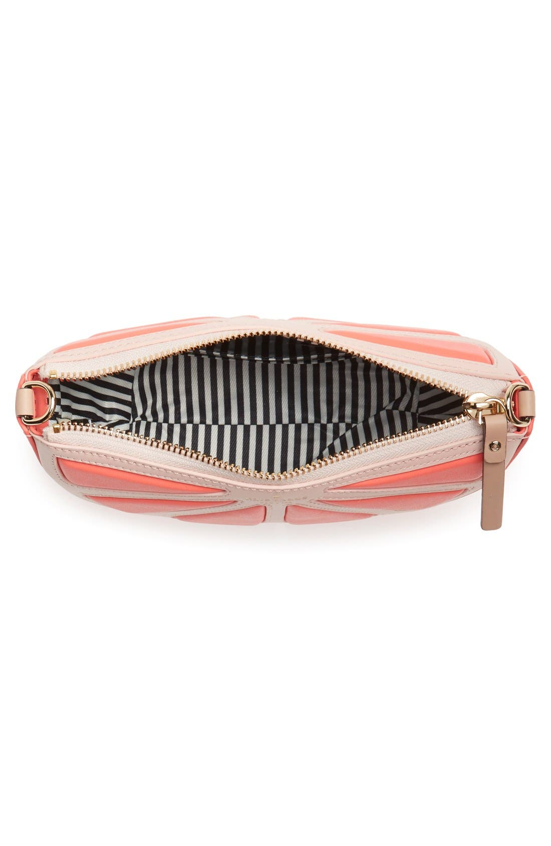 Alternate Image 4  - kate spade new york 'flights of fancy' grapefruit crossbody bag