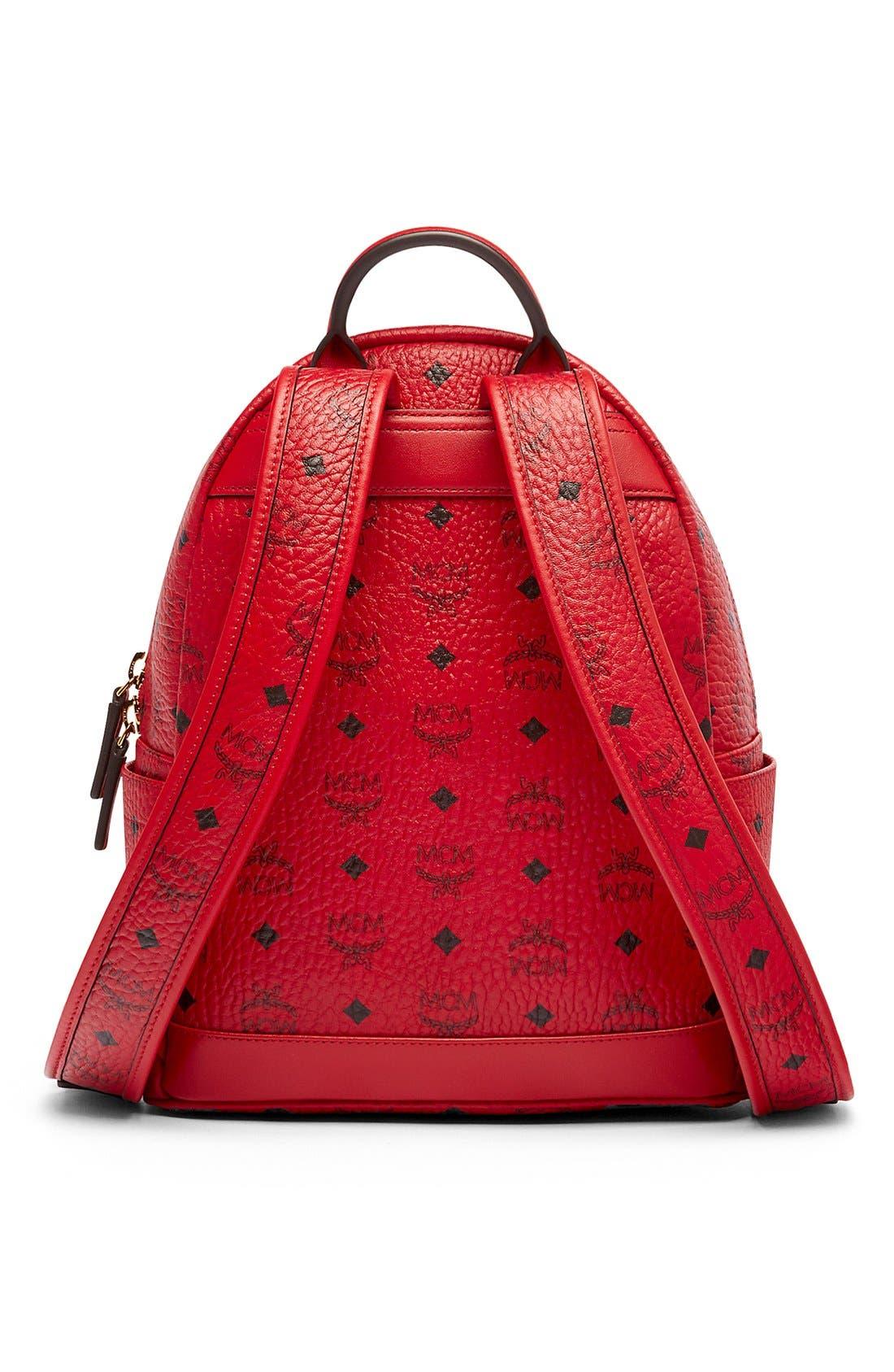 Alternate Image 3  - MCM 'Small Stark' Coated Canvas Backpack
