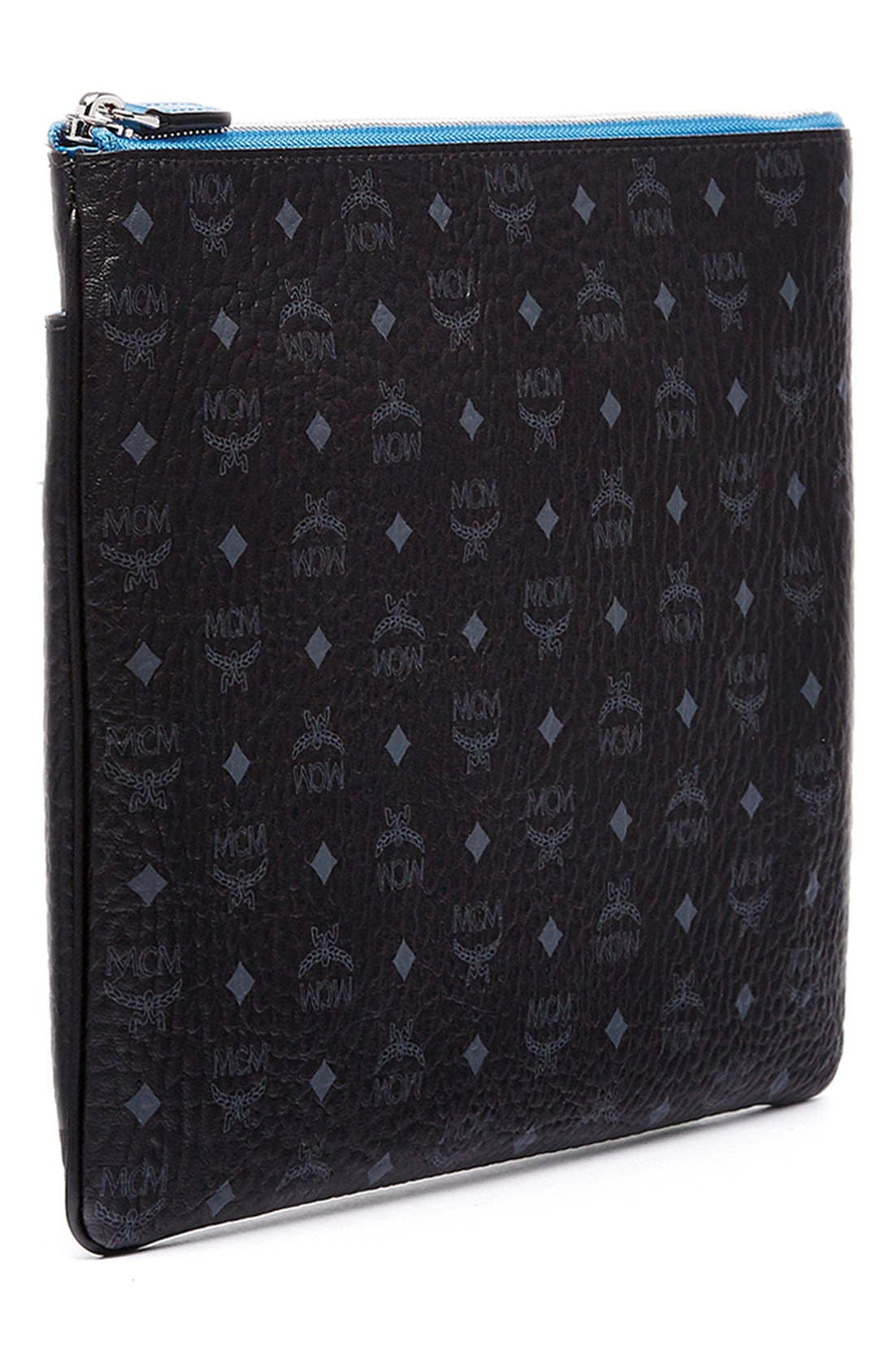 Alternate Image 5  - MCM 'Heritage' Convertible Coated Canvas Zip Pouch
