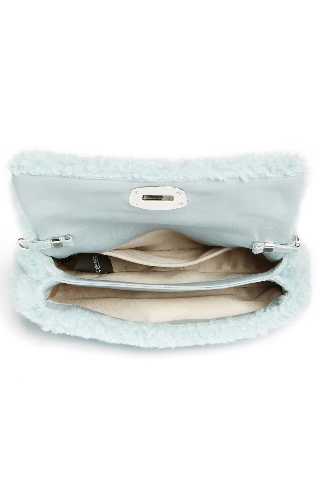 Alternate Image 6  - Miu Miu Small Genuine Shearling Shoulder Bag