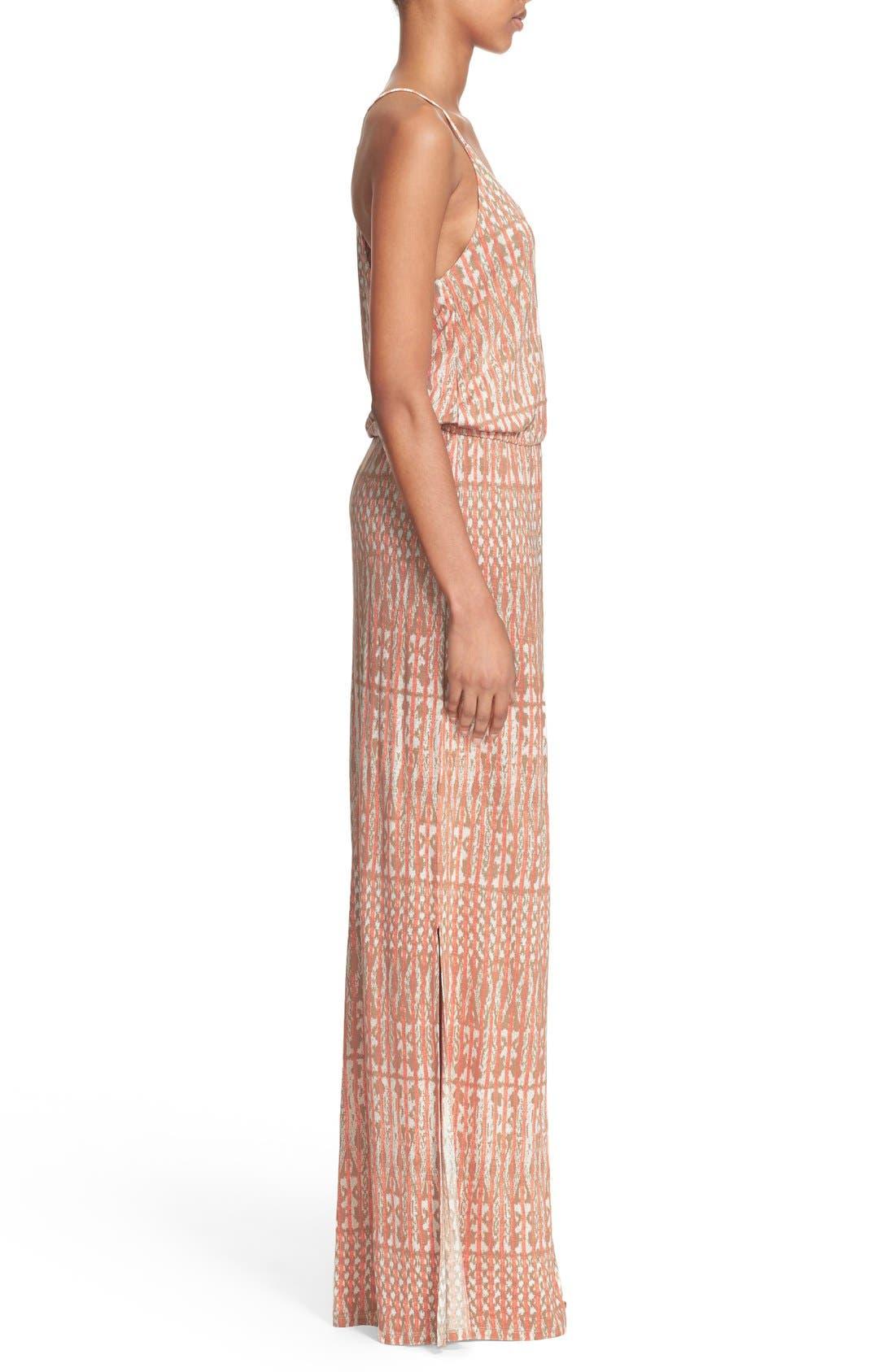 Alternate Image 3  - Joie 'Nahia' Ikat Print Blouson Maxi Dress