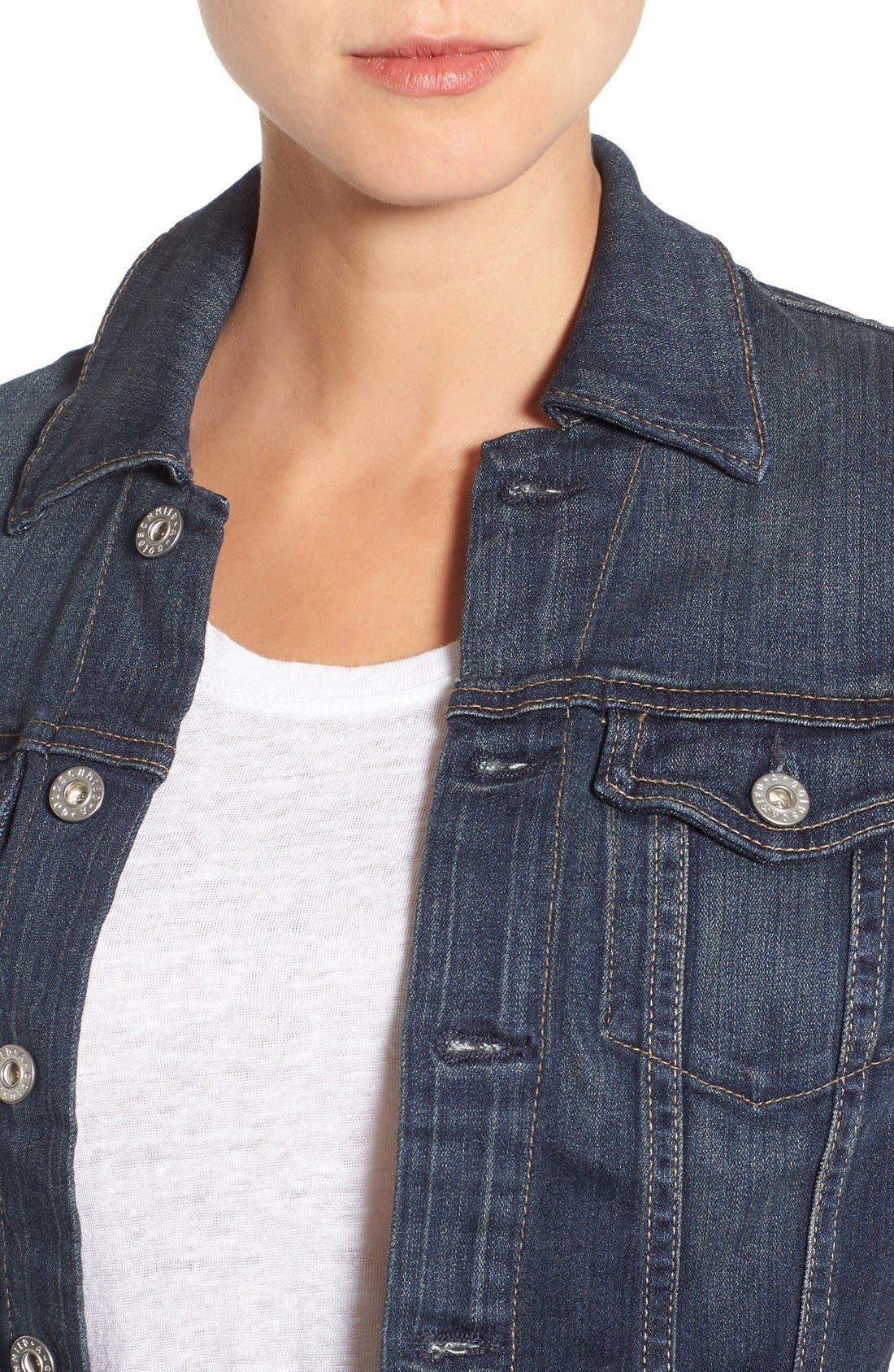 Alternate Image 5  - AG 'Robyn' Denim Jacket (Torrent)