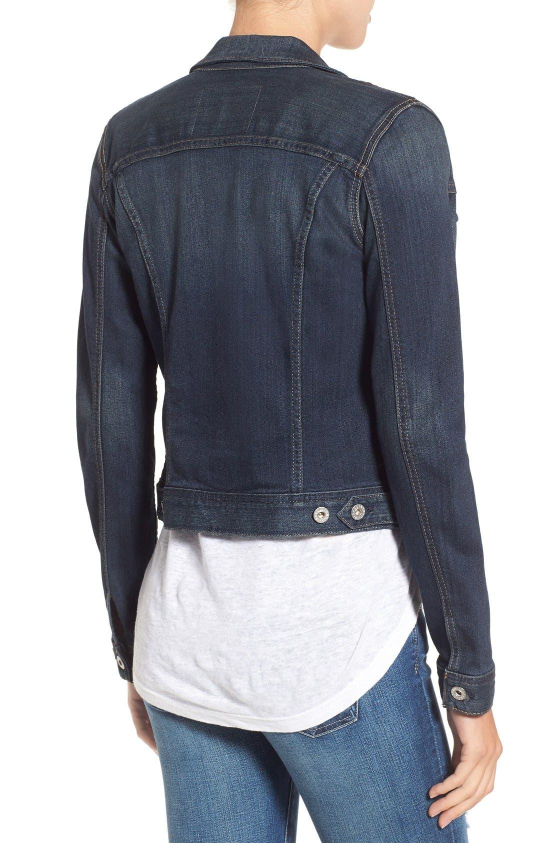 Alternate Image 3  - AG 'Robyn' Denim Jacket (Torrent)