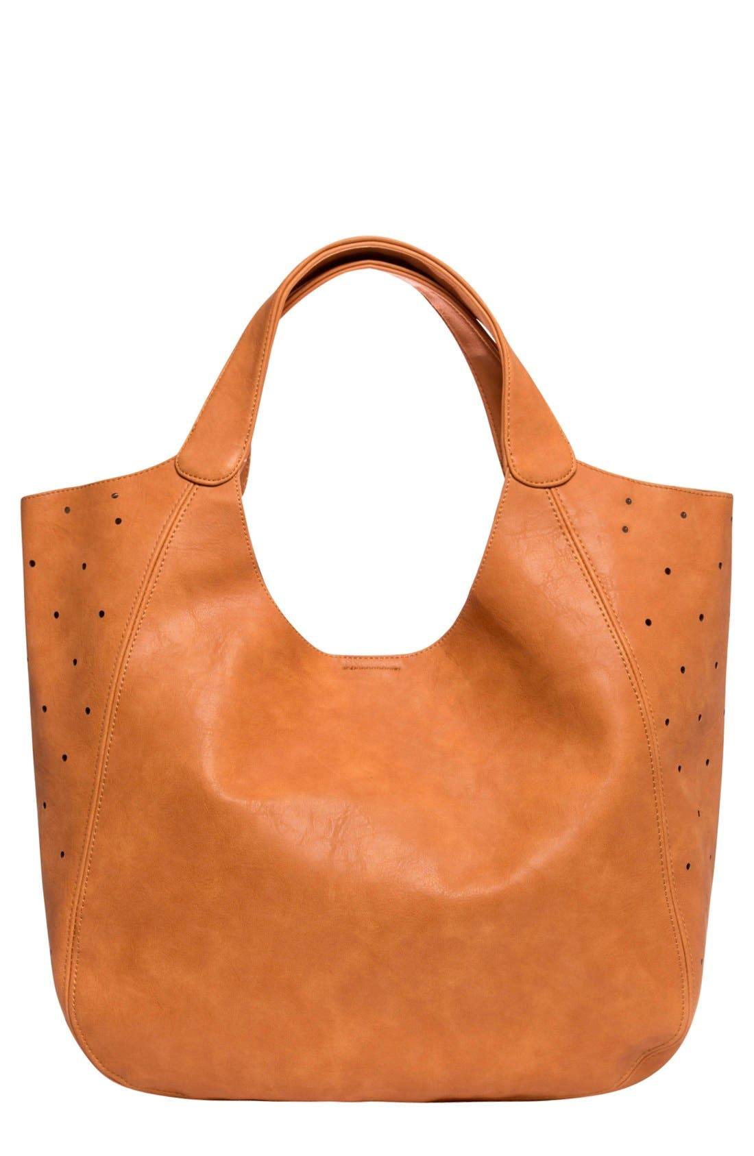 Urban Originals 'Masterpiece' Perforated Vegan Leather Tote