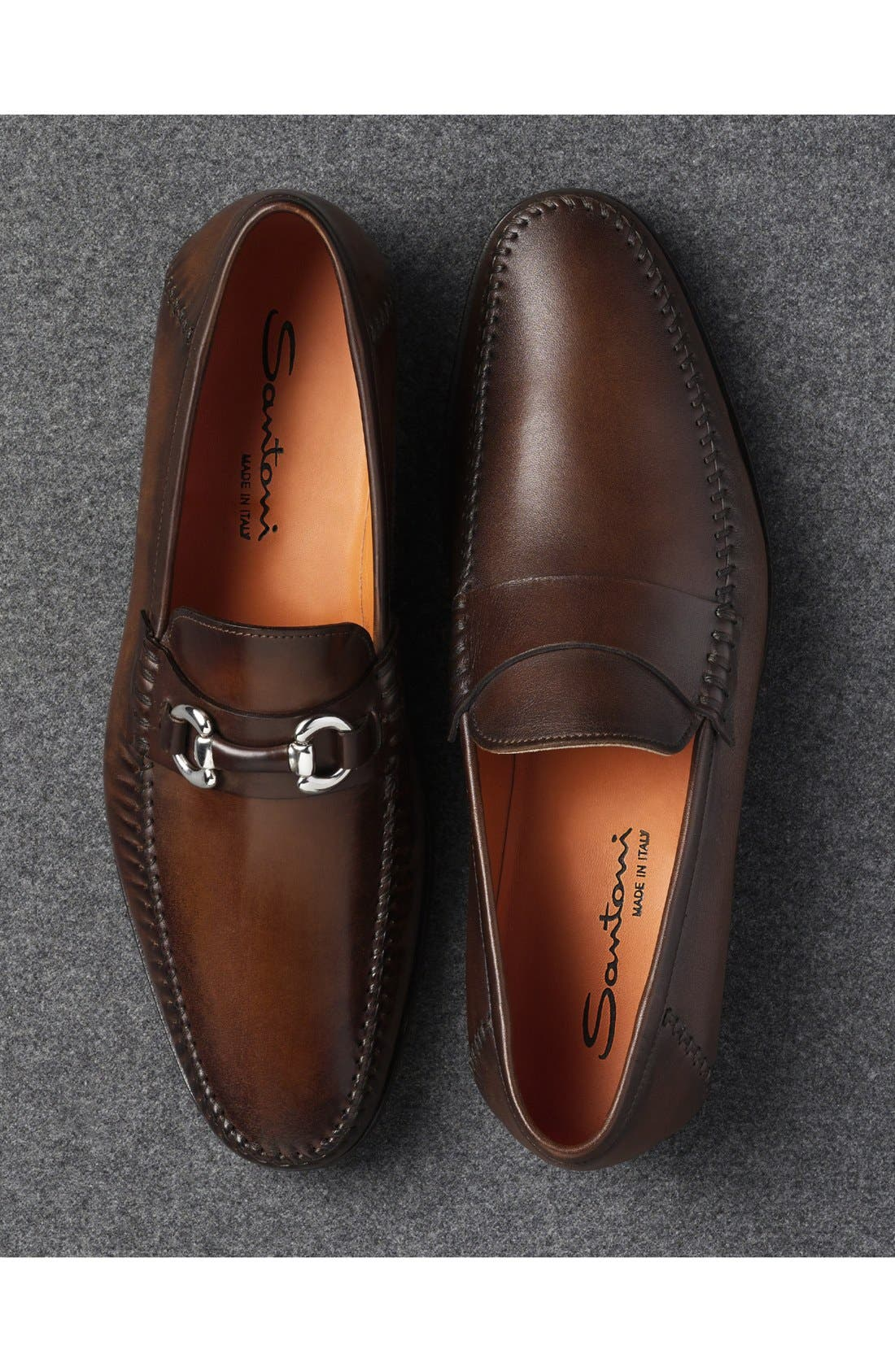 Alternate Image 5  - Santoni 'Paine' Loafer