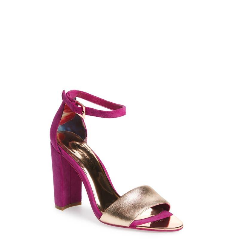 ted baker london 39 caiye 39 ankle strap sandal women nordstrom. Black Bedroom Furniture Sets. Home Design Ideas