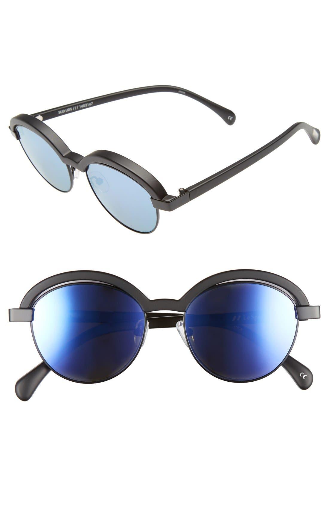 LE SPECS 'Slid Lids' 51mm Sunglasses