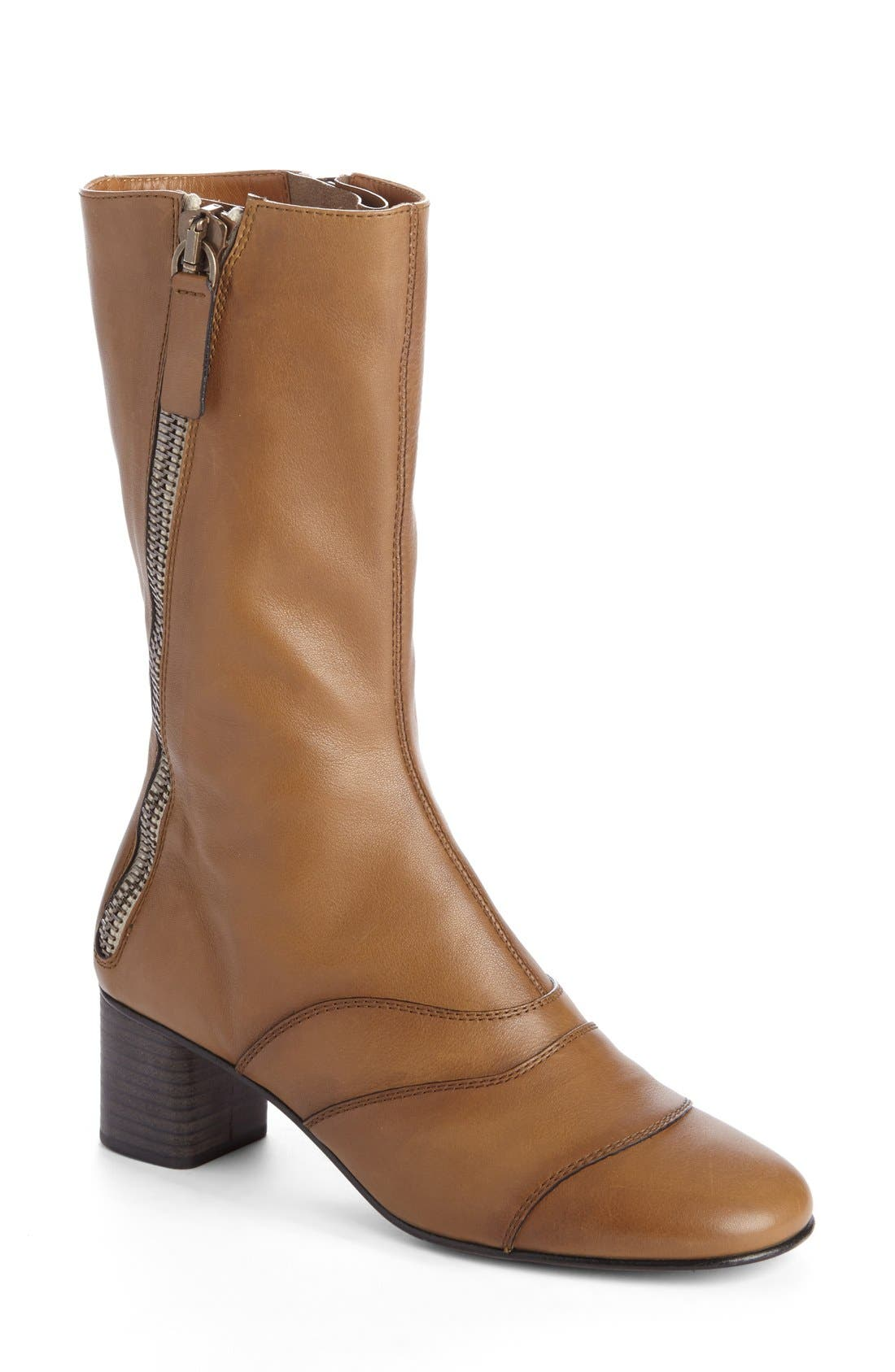 Chloé 'Lexie' Block Heel Boot (Women)