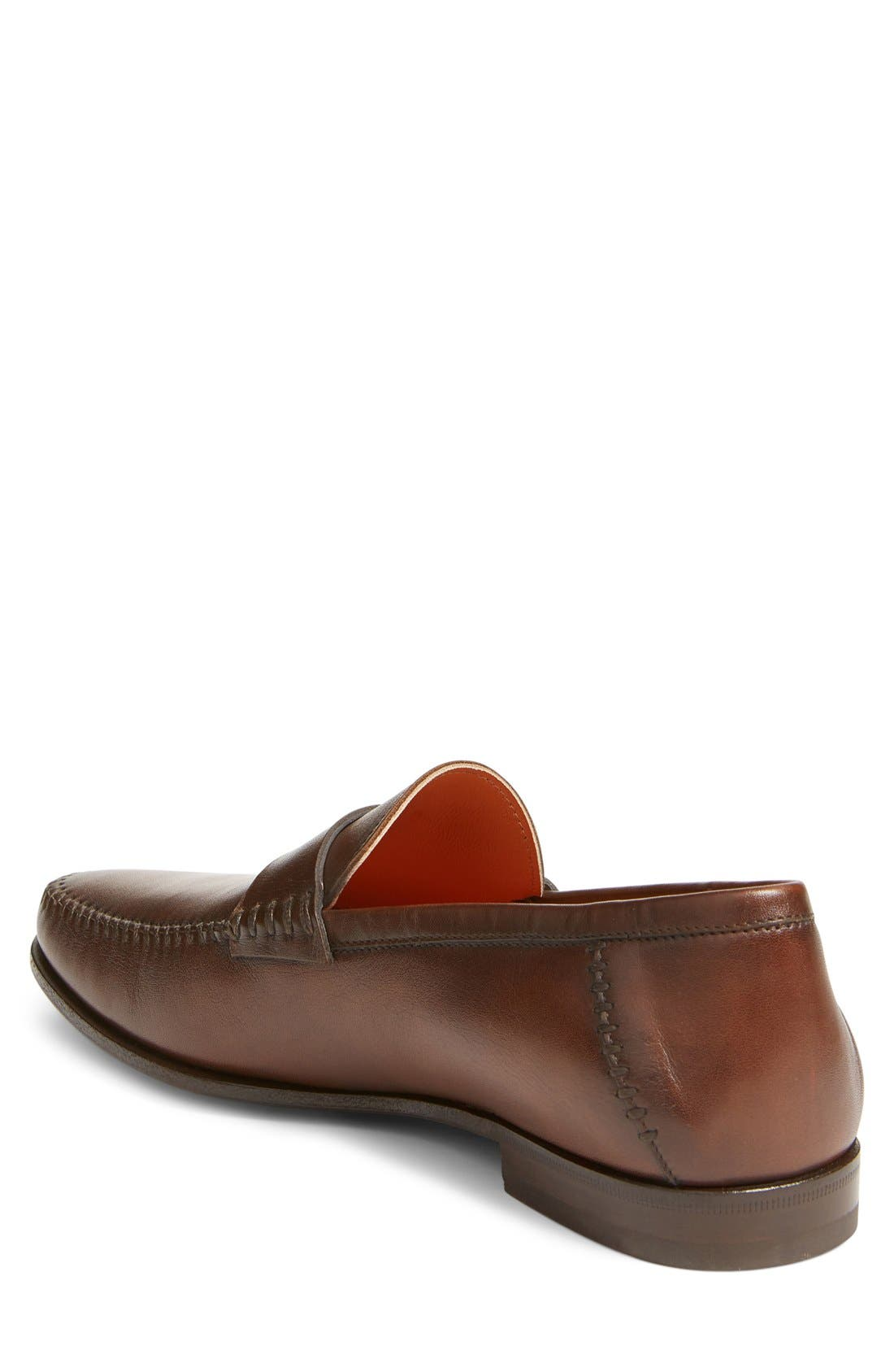 Alternate Image 2  - Santoni 'Paine' Loafer