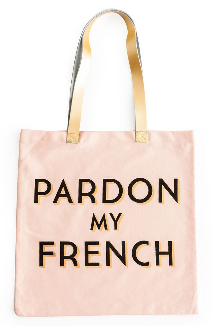 rosanna 39 pardon my french 39 tote bag nordstrom. Black Bedroom Furniture Sets. Home Design Ideas