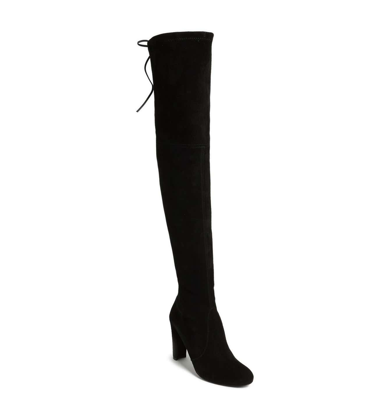 Nordstrom anniversary sale blogger wishlist - Stuart weitzman highlight over the knee boots on sale