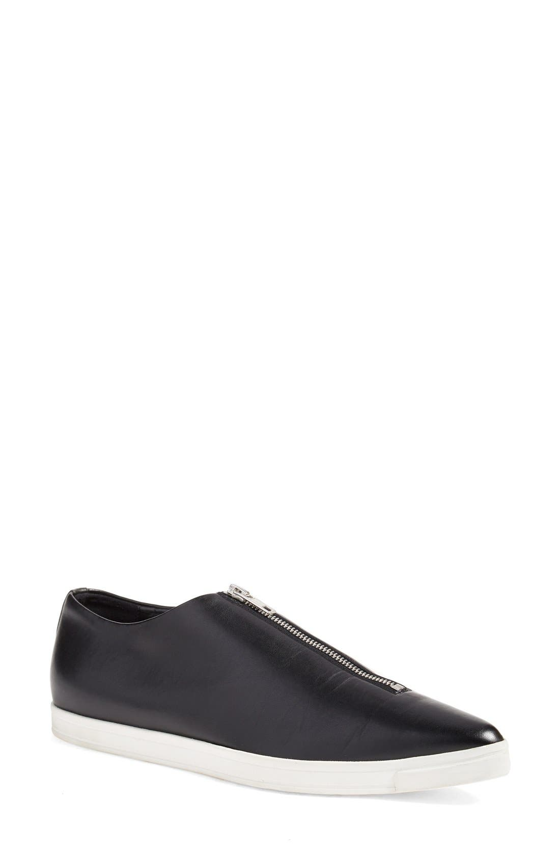 STELLA MCCARTNEY Pointed Toe Zip Loafer