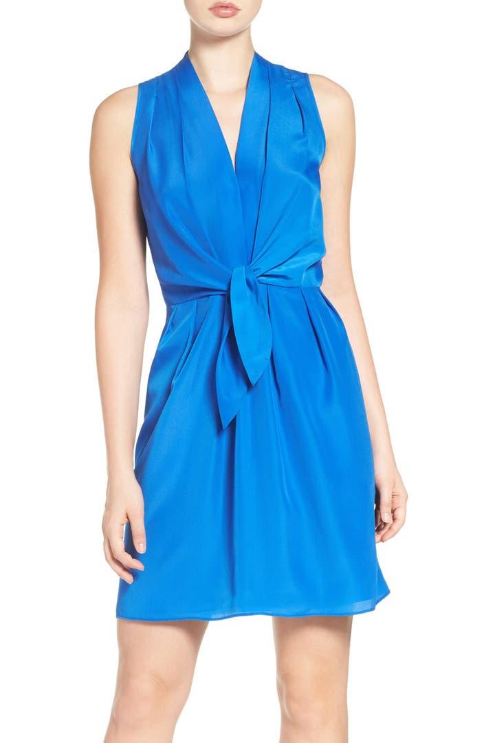Nordstrom: Felicity & Coco Tie Front Dress (Regular & Petite
