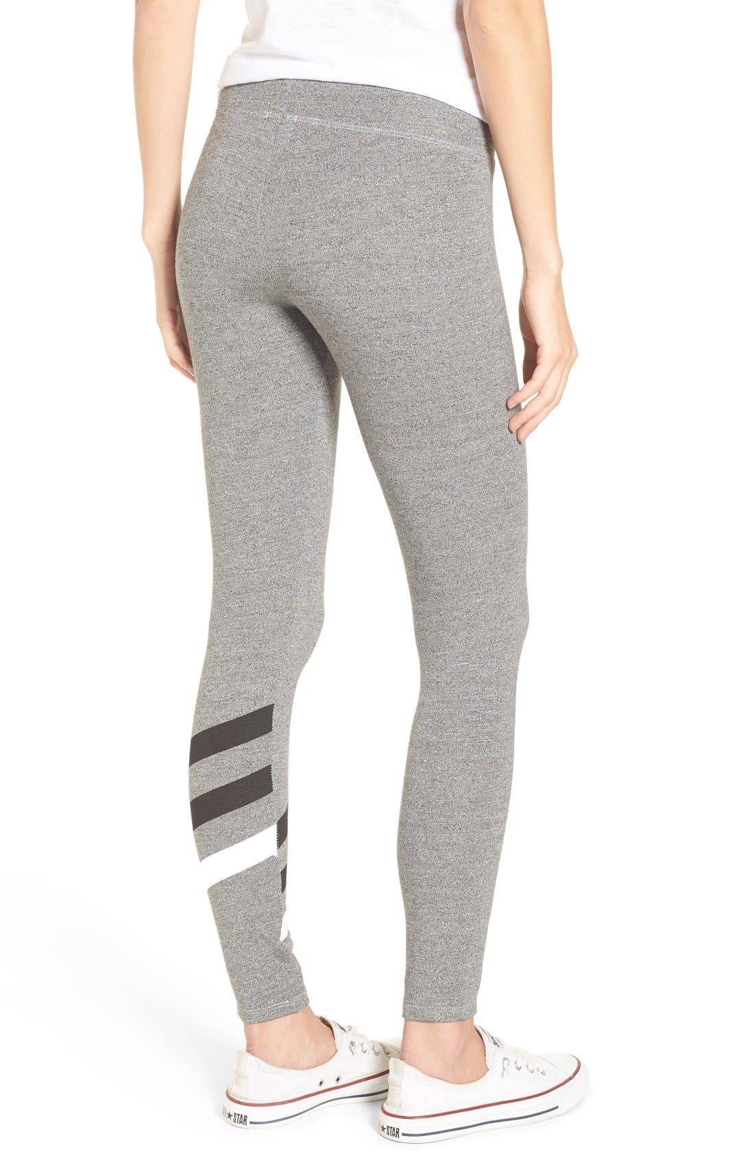 Alternate Image 2  - Sundry 'Stripes' Yoga Pants