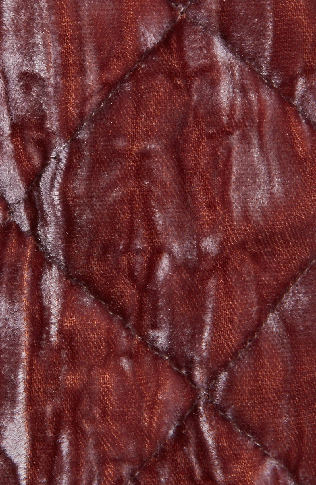Alternate Image 3  - Haider Ackermann Contrast Detail Quilted Velvet Bomber Jacket