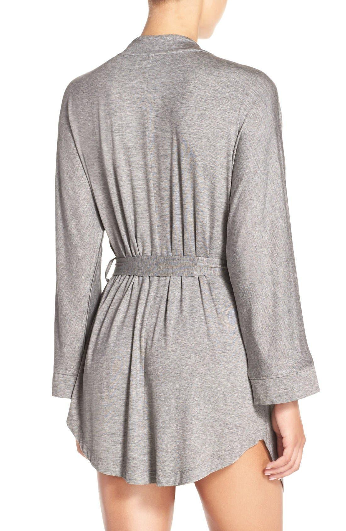 Alternate Image 2  - Honeydew Intimates Jersey Robe (2 for $60)