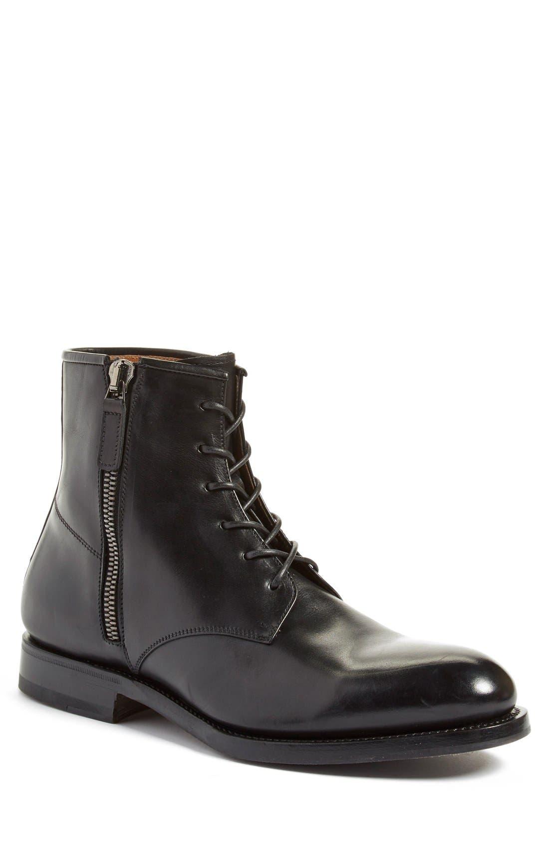 Alternate Image 1 Selected - Aquatalia 'Victor' Plain Toe Boot (Men)