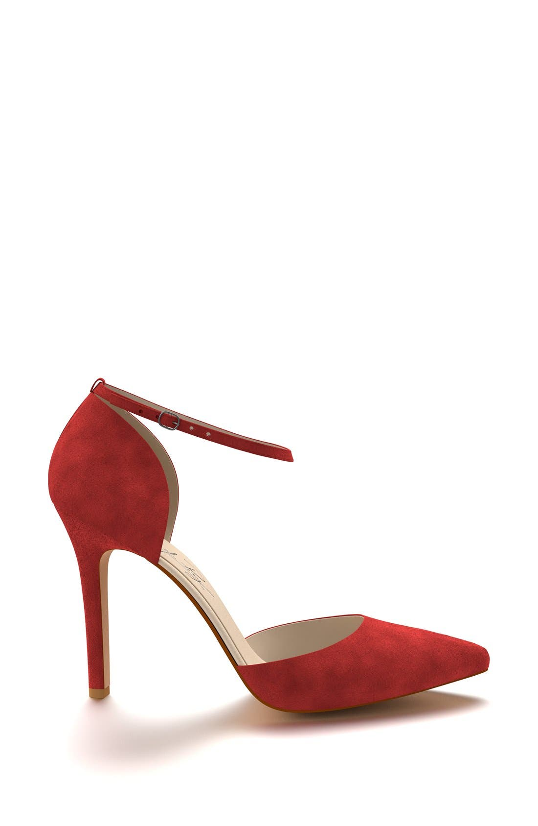 Alternate Image 2  - Shoes of Prey d'Orsay Ankle Strap Pump (Women)