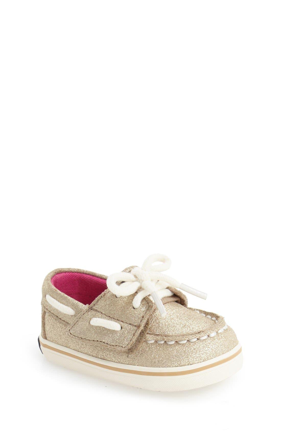 Alternate Image 1 Selected - Sperry Kids 'Bahama' Crib Shoe (Baby)