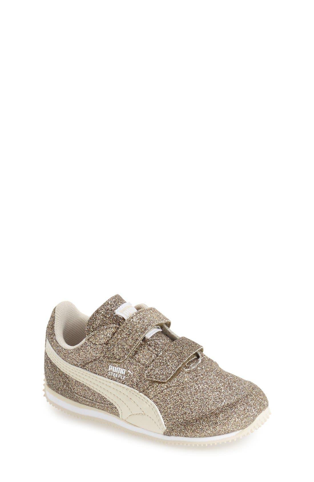 PUMA Steeple Glitz Sneaker (Baby, Walker & Toddler)