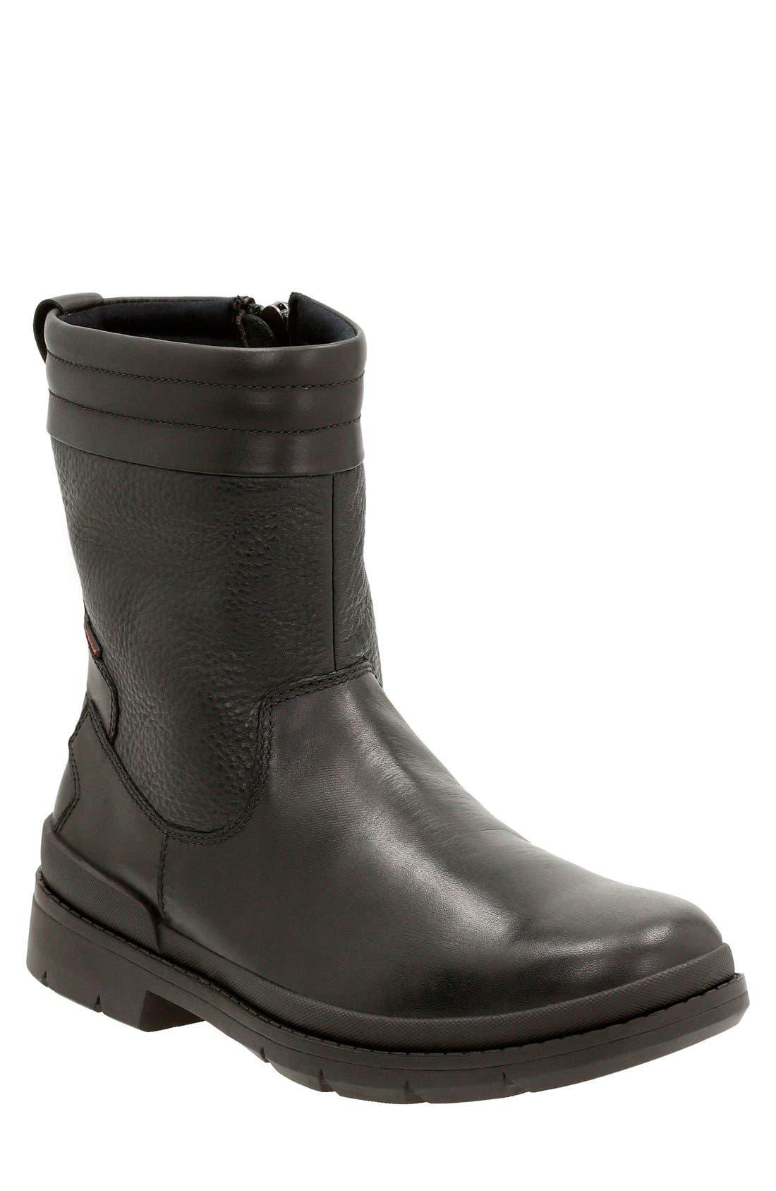 Clarks® 'Kimball Peak' Zip Boot (Men)
