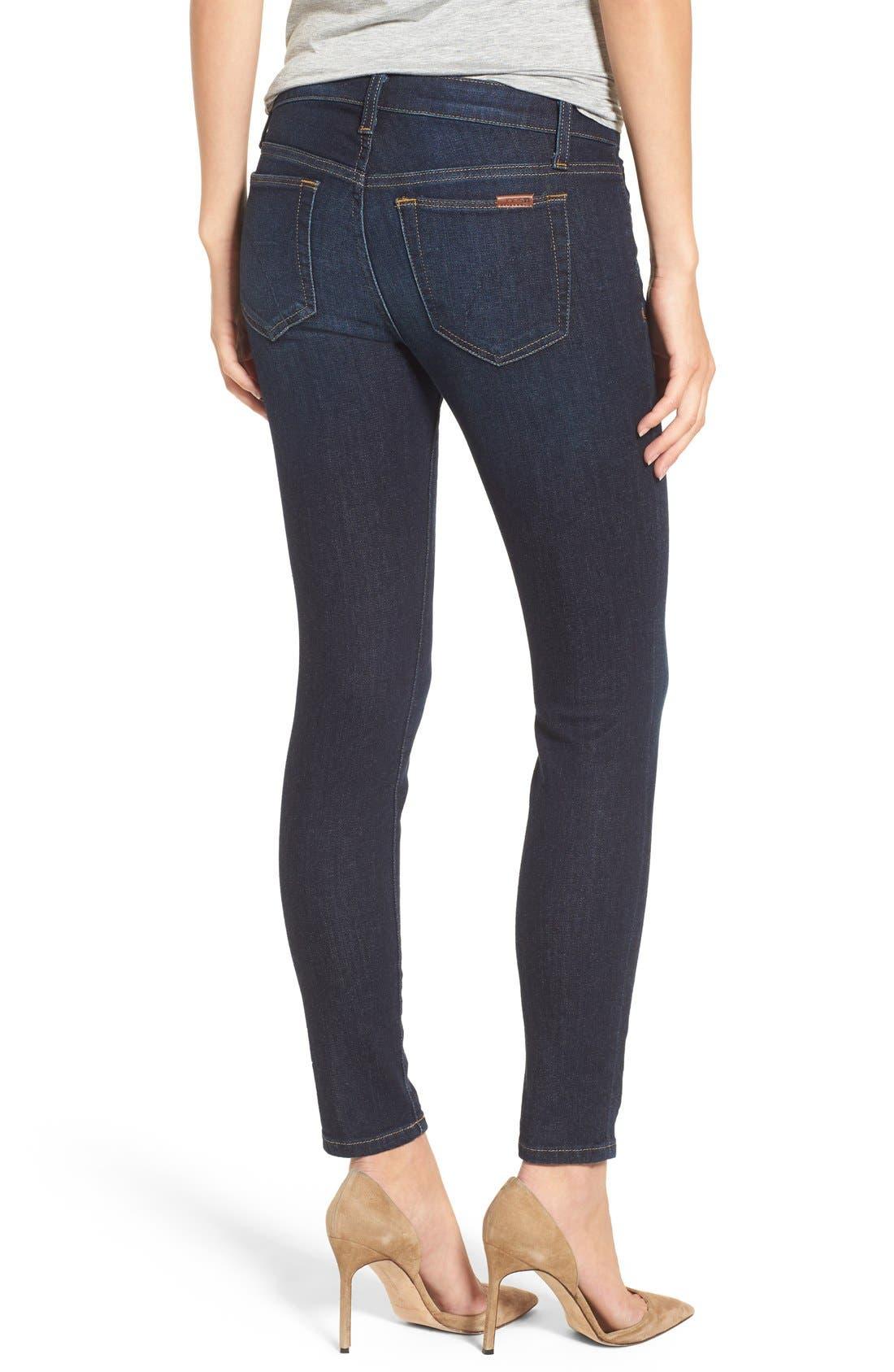 Alternate Image 2  - Joe's Ankle Skinny Jeans (Rikki)