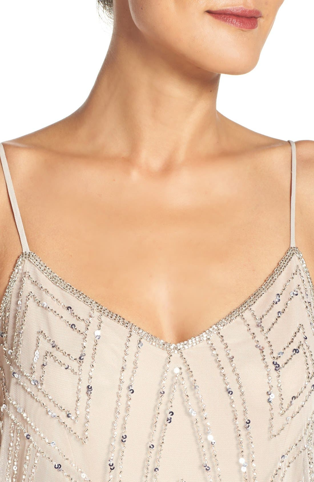 Alternate Image 4  - Adrianna Papell Embellished Blouson Gown