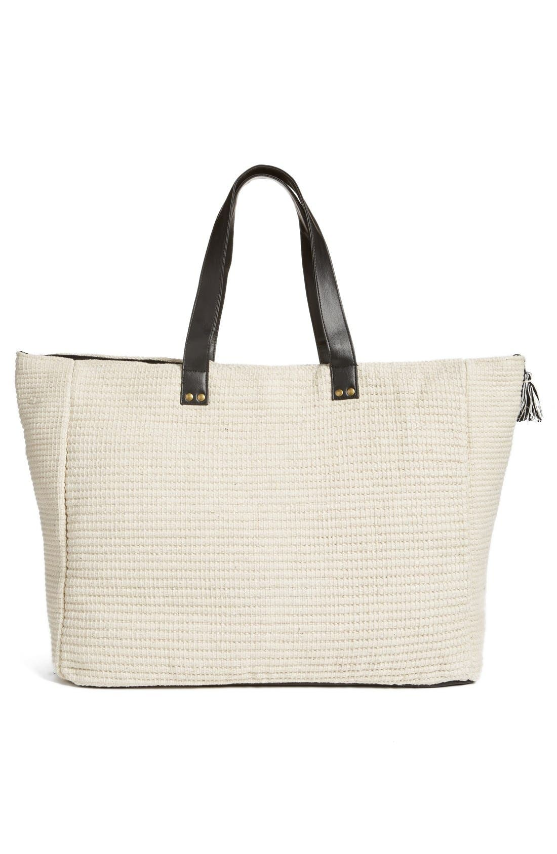 Alternate Image 3  - Amuse Society Woven Tote