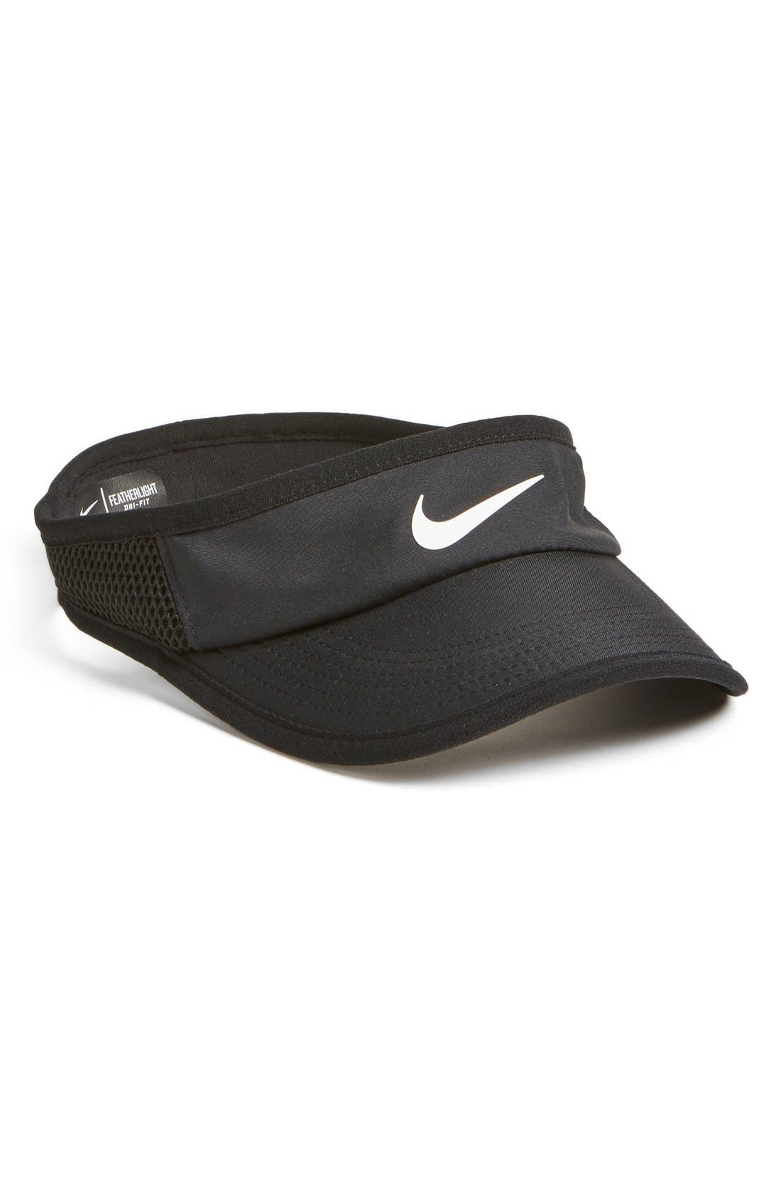 Alternate Image 1 Selected - Nike 'Featherlight' Dri-FIT Visor