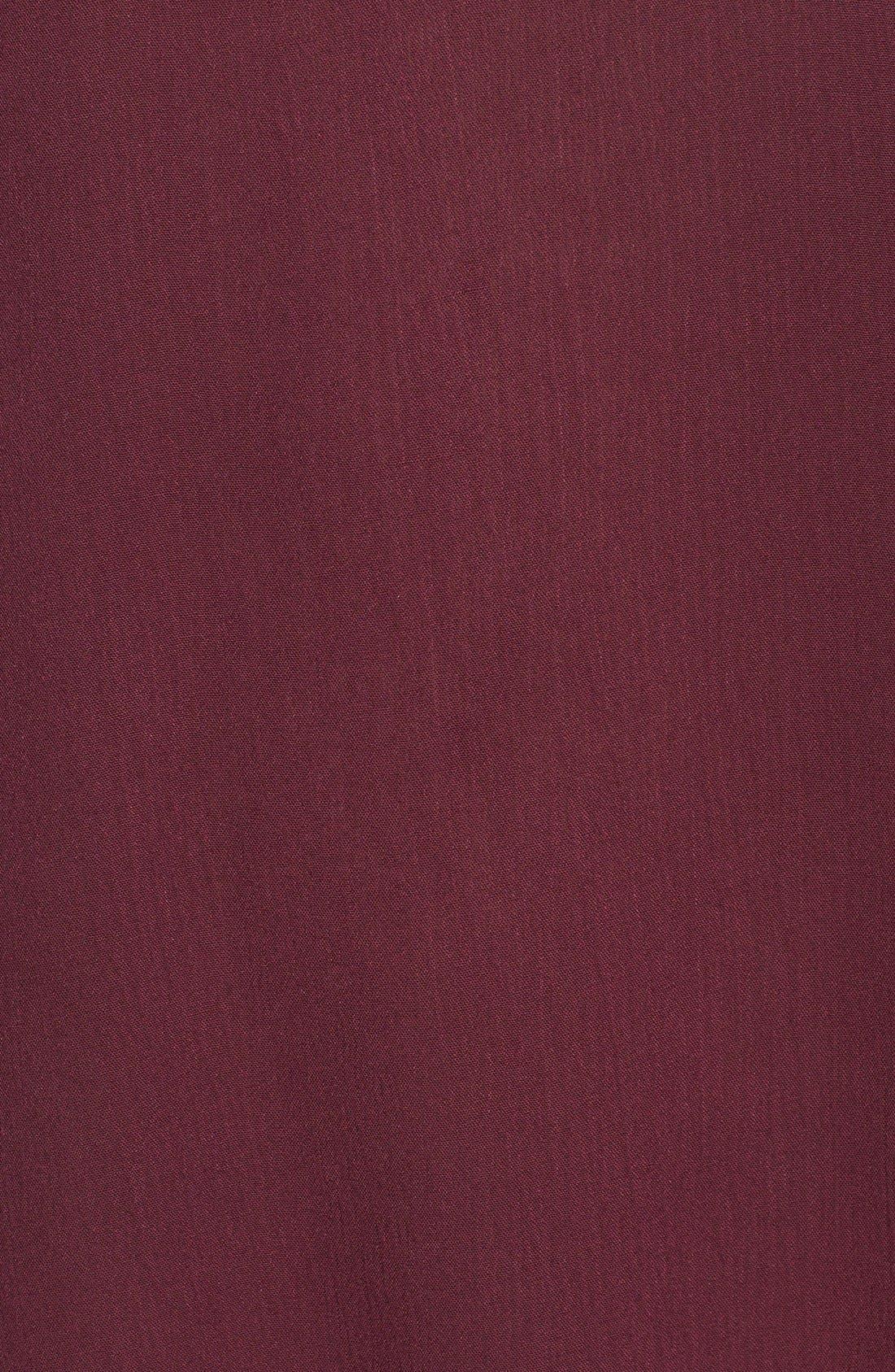 Alternate Image 5  - Lush 'Whitney' Bell Sleeve Woven Shift Dress