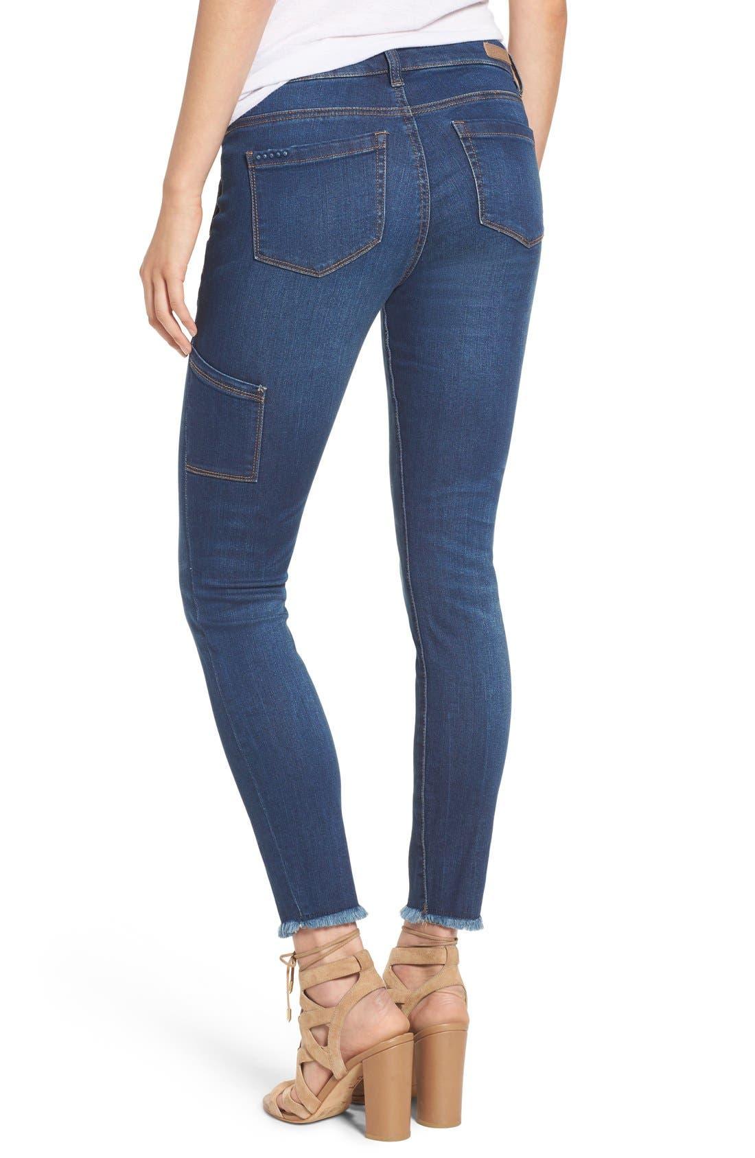 Alternate Image 2  - BLANKNYC Utility Skinny Jeans (Buffering)