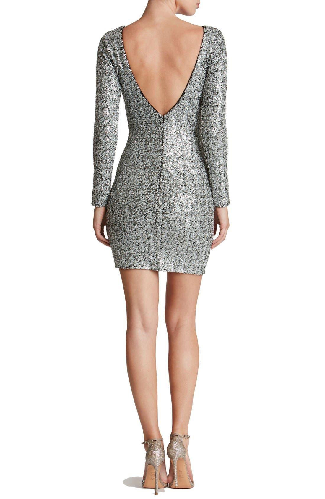 Alternate Image 2  - Dress the Population Lola Body-Con Dress