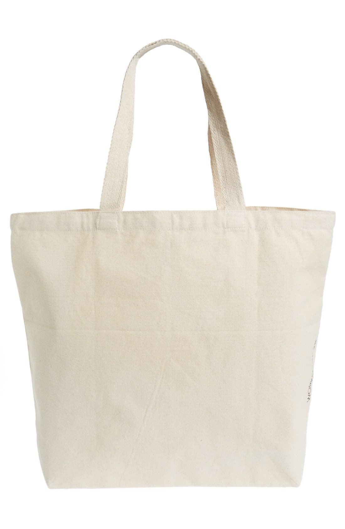 Alternate Image 2  - WORKSHOP 28 'Aloha Conquers All' Canvas Tote