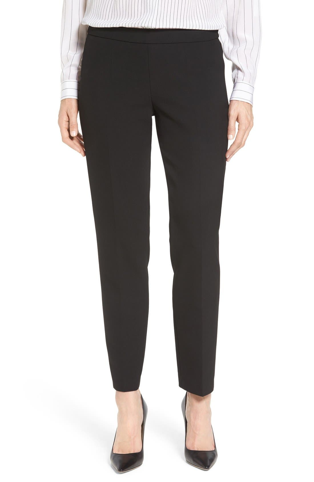 BOSS 'Tiluna' Slim Leg Ankle Trousers