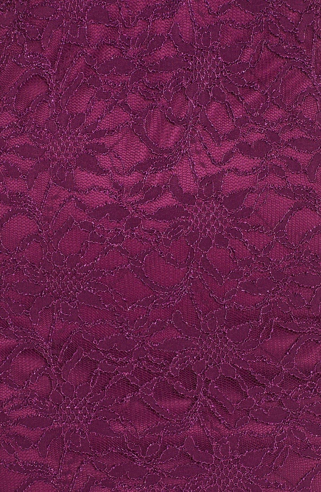 Alternate Image 5  - Jump Apparel Lace Midi Body-Con Dress