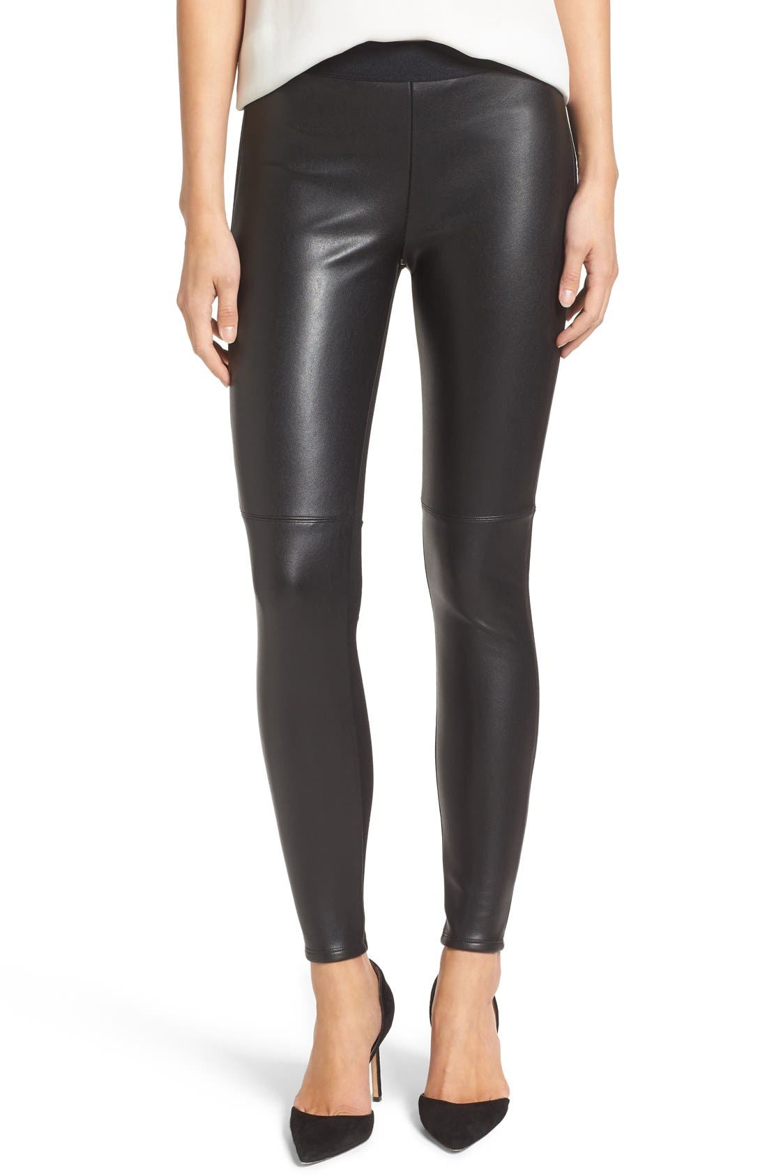 Bailey 44 'Stevie' Faux Leather & Stretch Ponte Pants