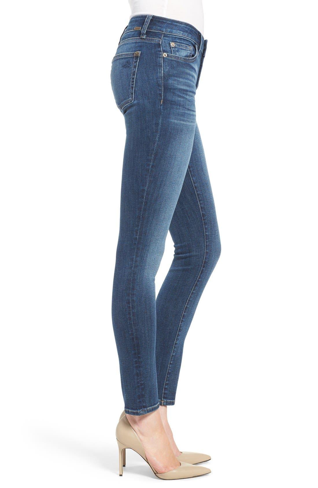 Alternate Image 3  - DL1961 'Florence' Skinny Jeans (Athena)