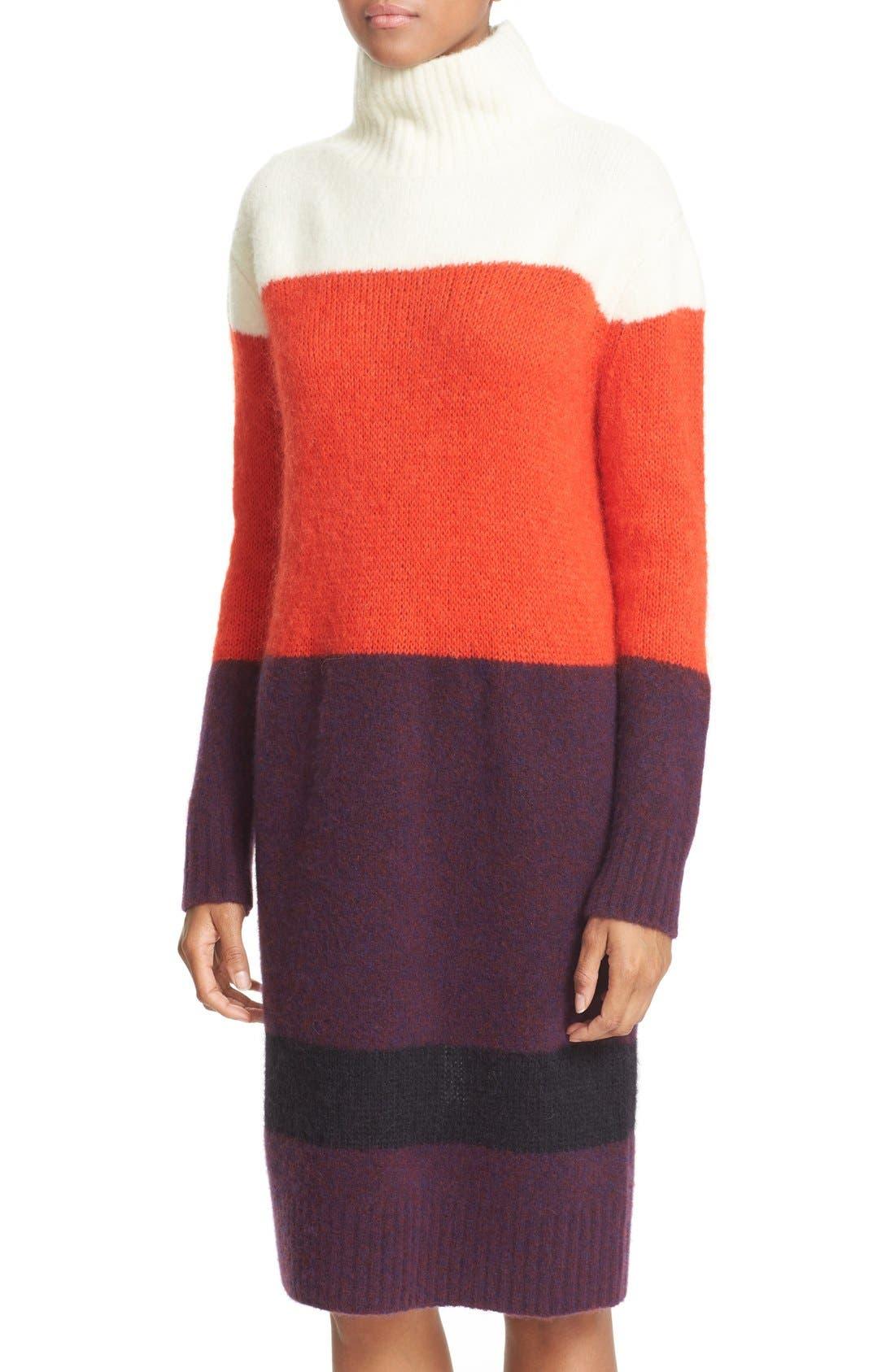 Alternate Image 4  - rag & bone 'Britton' Stripe Wool Blend Sweater Dress