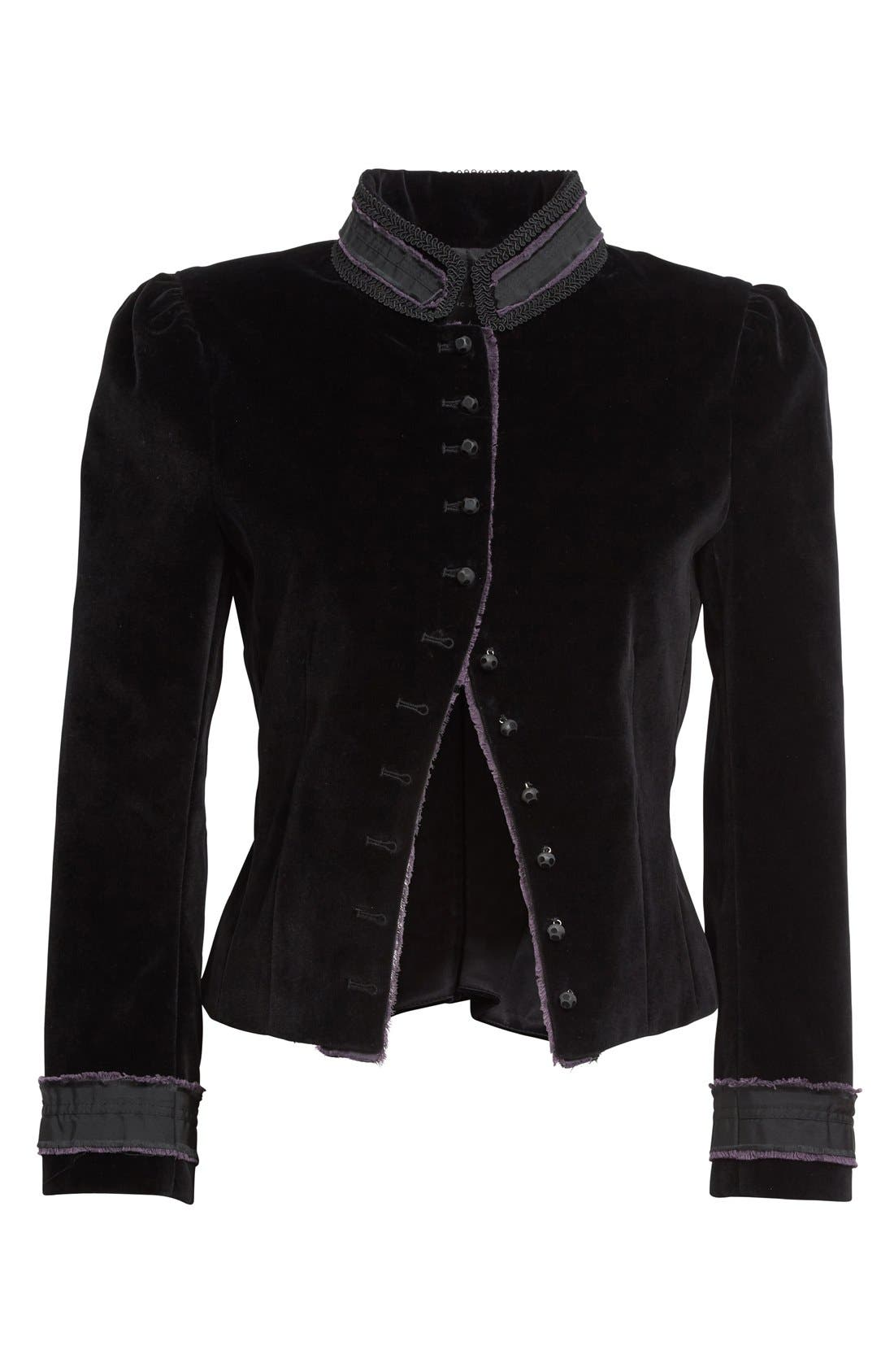Alternate Image 4  - MARC JACOBS Cotton Velvet Victorian Jacket
