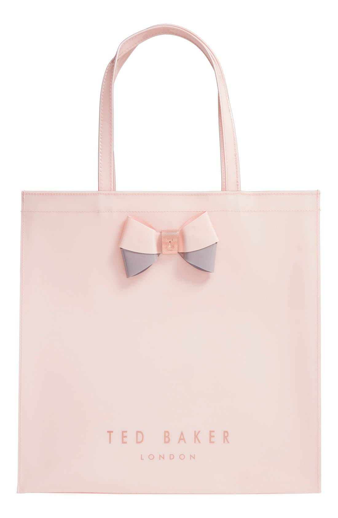 Main Image - Ted Baker London 'Large Icon - Bow' Tote