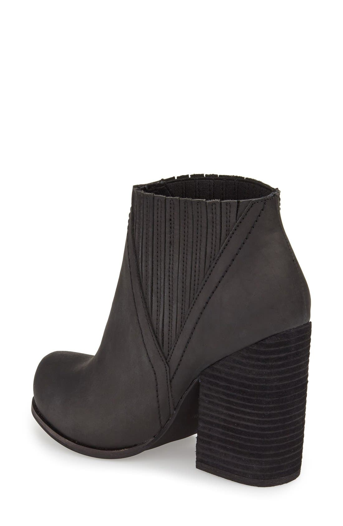 Alternate Image 2  - Jeffrey Campbell 'Gershon' Block Heel Bootie (Women)