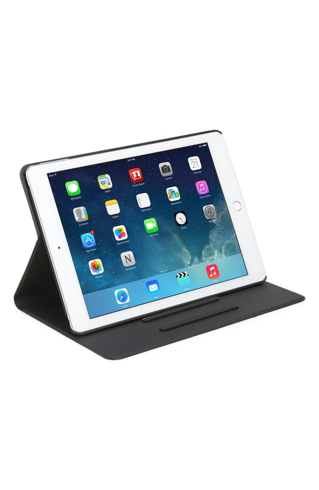 Main Image - kate spade new york colorblock leather iPad Air 2 folio