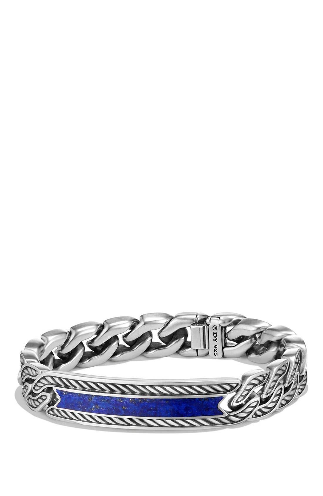 David Yurman 'Maritime' Curb Link ID Bracelet