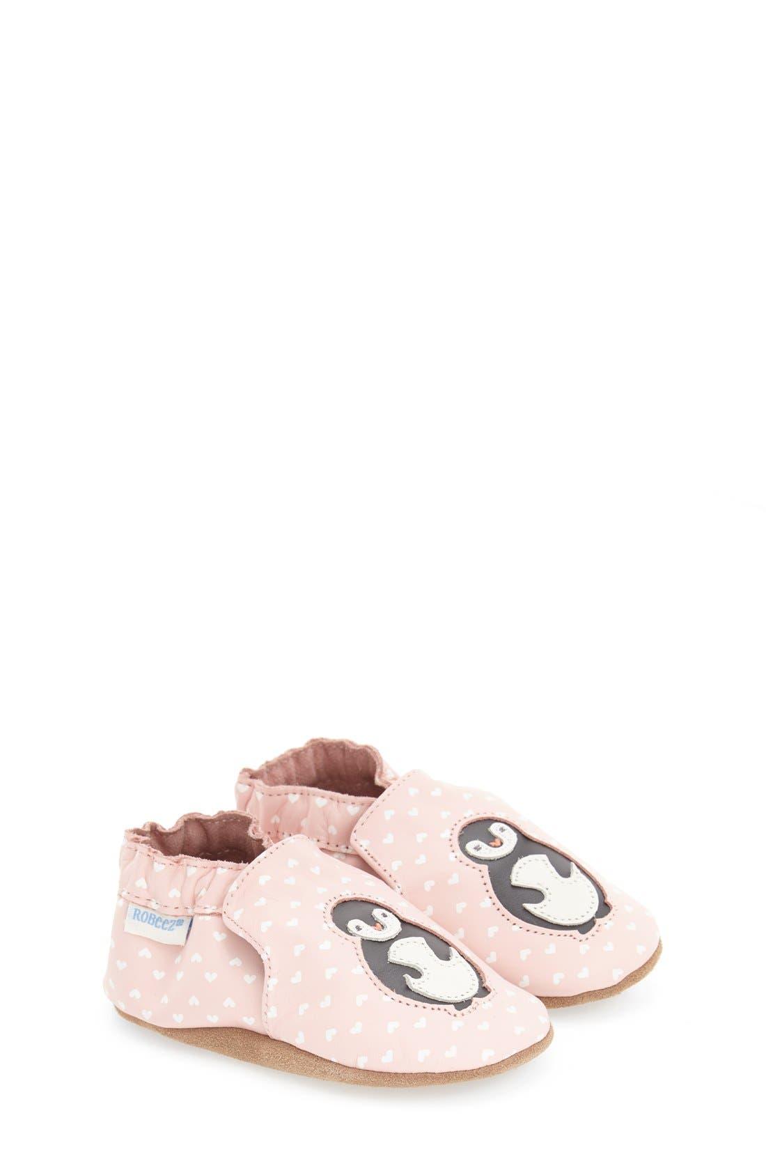 ROBEEZ® 'Piper Penguin' Crib Shoe