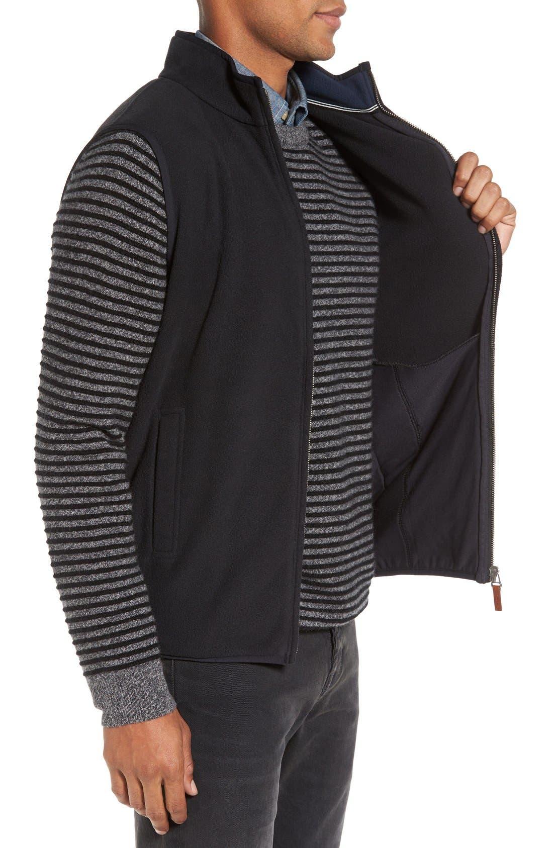 Alternate Image 3  - Nordstrom Men's Shop Polar Fleece Vest (Regular & Tall)